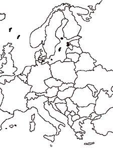 carte Europe Mandala, Europe, Countries Of The World, English People, Mandalas