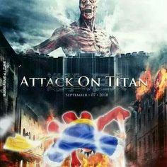 Titans vs luffy