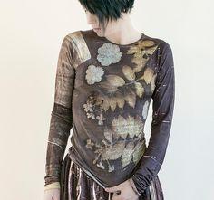 ecoprinting - Textiles con Alma - Irit Dulman