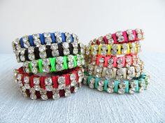 Neon friendship bracelets by Handemadeit, $17.90