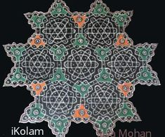 hi all ths is the pongal sikku kolam drawn in front of my doorstep. lata mam can i submit this for the sikku kolam contest? Dot Rangoli, Rangoli With Dots, Rangoli Designs, Indian Beauty Saree, Diamond Jewelry, Collections, Antiques, Photos, Inspiration