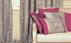Yoshino - Silk Embroideries : Upholstery Fabrics, Prints, Drapes & Wallcoverings