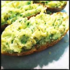 A recipe for low-fat stuffed baked potatoes!