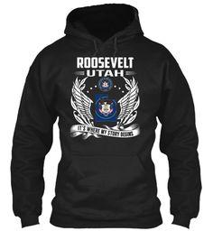 Roosevelt, Utah - My Story Begins