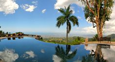 The infinity pool #jamaica at strawberry hill resort