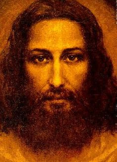 from the image on the shroud of turin this is our lord jesus christ Pictures Of Jesus Christ, Black Jesus Pictures, Jesus Painting, Jesus Face, Face Images, Guardian Angels, Christian Art, Religious Art, Jesus Loves
