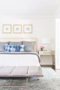 Mel Bean Interiors Midtown Modern Master Bedroom ©Alyssa Rosenheck