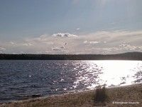Municipality of Kemijärvi in Finnish Lapland. Film, Beach, Water, Summer, Outdoor, Movie, Gripe Water, Outdoors, Summer Time