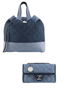 Chanel http://www.marie-claire.es/moda/accesorios/fotos/bolsos-primavera-verano-2014-novedades/chanel-denim