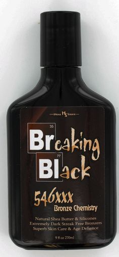 #Breakingblack will Increase the results you get from any tanning session, either outdoors or in with this wonderful lotion-bronzer from those great lotion creators at #hosssauce. www.hosssauce.com