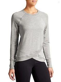 Criss Cross Sweatshirt   Athleta - Street Style
