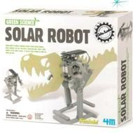 Build this solar-powered robot, and get a glimpse of robotic immortality (unless it's cloudy).