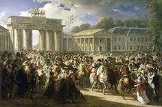 Entrée de Napoléon à Berlin. 27 octobre 1806.