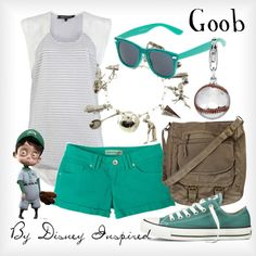 """Goob - from Disney's Meet the Robinson's"" by elliekayba on Polyvore."