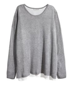H&M+ Fine-knit Sweater | Product Detail | H&M