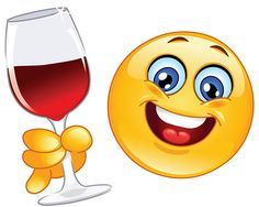 Wine smiley | emoji s-faces | Pinterest | Smiley, Wine and Smile