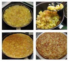 recept-originele-spaanse-tortilla-2 Italian Recipes, Vegan Recipes, Tasty, Yummy Food, Food Platters, Cornbread, Macaroni And Cheese, Food And Drink, Veggies