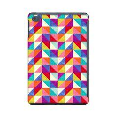 Geometric Ipad mini case colorful triangle ipad mini by RoveStudio, $36.00