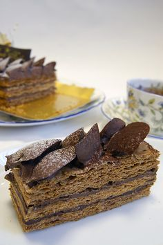 Millefeuille Chocolat,