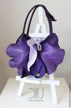 Орхидея new - Красивая сумка,сумка ручной работы,сумка кожаная,сумка на каждый день