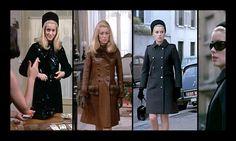 Catherine Deneuve in Belle de Jour…and her YSL Coats!