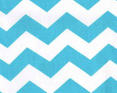 CHEVRON in Turq DC 4154 by Paula Prass from Summer Soiree Collection for Michael Miller Fabrics