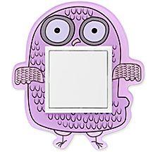 90910_FS: 1 - rámček, fialová sova