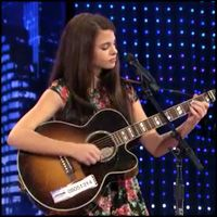 Young Girl Skilyr Hicks Sings Through the Tears in Memory of Her Late Father - Music Video