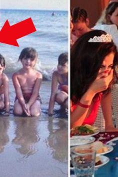 Noiva mostra foto de infância ao noivo e eles não podem acreditar em quem está na foto