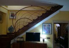 RINGHIERA FERRO BATTUTO . Realizzazioni Personalizzate . 000 Flat Screen, Scale, Stairs, Ebay, Home Decor, Houses, Weighing Scale, Stairway, Flatscreen