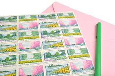 6c Beautification Stamps - 6 cents - Vintage 1969 - Unused Beautification of America Postage - Quantity of 50