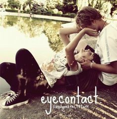 Eye contact at all times 8)