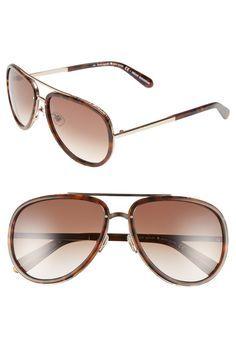 e3680d6c4093 kate spade new york  makenzie  58mm aviator sunglasses Kate Spade Sunglasses
