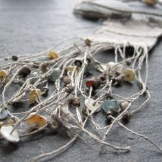 each and every  talisman textile/fiber necklace by mairedodd, $150.00