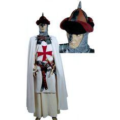 Gondemar code produit : 943-001 10 pièces : Robe, Tunique, Col, Cape, Ceinture (4 Pièces.), Cagoule et Coiffe. Taille(s) : Unique.