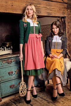 JAN&INA Trachten - Leinen Traditional Dirndl grau melange/ send Janina, Romance, Shopping, Vintage, Closet, Style, Fashion, Oktoberfest, Linen Fabric