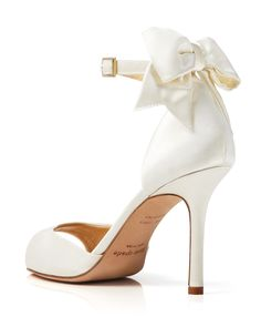 kate spade new york Open Toe Evening Sandals - Izzie Bow Back High Heel