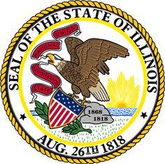 Illinois's seal.