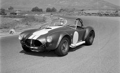 """Ford conspired with Carroll Shelby to build a whole new chassis under the AC Ace body and shove in the outrageous 427-cubic-inch (7.0-liter) """"side-oiler"""" V-8. With between 425 and 485 horsepower it has set a high bar for the performance cars that followed it."""