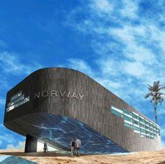 Expo 2020, Dubai Uae, Pavilion, Norway, World, Gallery, The World, Roof Rack, Gazebo