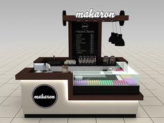 Makaron Shopping Mall Stand Design @Toronto