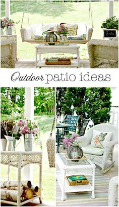 Golden Boys and Me: Outdoor Patio Ideas