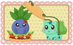 Oddish Burger? by Jennifairyw.deviantart.com on @deviantART