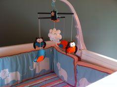 Phoenix's Aqua and Orange Nursery | Project Nursery