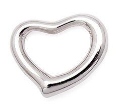 Grey's Anatomy Callie Arizona Floating Heart Tiffany Style Pendant + Necklace Set 16 inch