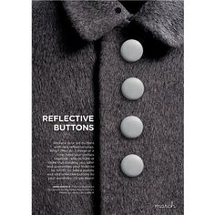 Refleksknapper design. Tie Clip, Buttons, Silver, How To Make, Accessories, Design, Stud Earrings, Money, Design Comics