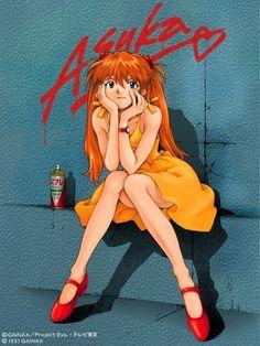 惣流・アスカ・ラングレー(Sohryu Asuka Langley) in 「Neon Genesis Evangelion」(1995-1996) #Evangelion