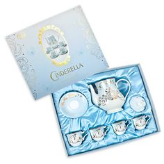 Have an enchanted evening with the new Cinderella Fine China Tea Set from Disney Store - tiara Tinkerbell, Loose Tea Infuser, New Cinderella, Enchanted Evening, Disney Enchanted, Have Courage And Be Kind, Disney Home Decor, China Tea Sets, Rose Of Sharon