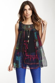 Free People Journey Tunic by High Wattage Hits on @HauteLook