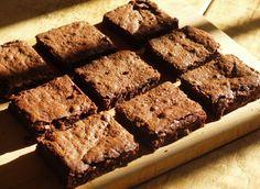 flourless chocolate fudge brownies